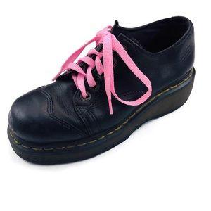 Dr Doc Martens Oxford Platform Shoes 8651 Goth